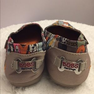 """Sketchers, """"Bob's for dogs"""" shoes"""